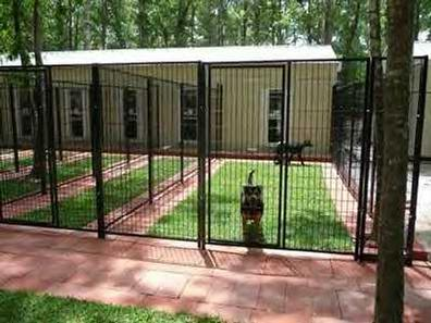 with our multi dog enclosures measuring